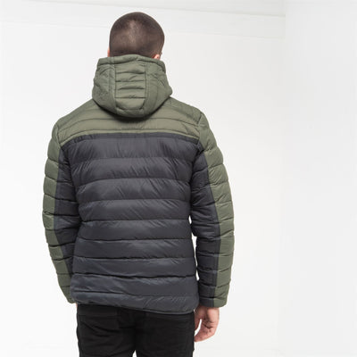 Mens Bubble Jacket Crosshatch Pyffan - Kandor Clothing Company Ltd UK