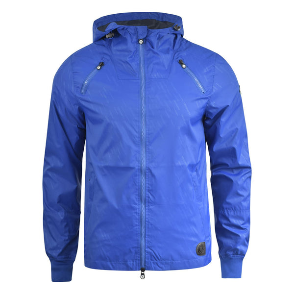 Mens Jacket Crosshatch Lightweight Windbreaker Showerproof Acherner Coat