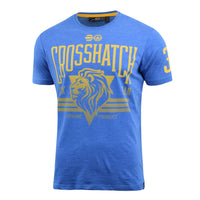 Mens Crosshatch T-Shirt Contrast Short Sleeve Tee Top Penycoat - Kandor Clothing Company Ltd UK