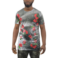 Mens t-shirt juice longline roar top - Kandor Clothing Company Ltd UK
