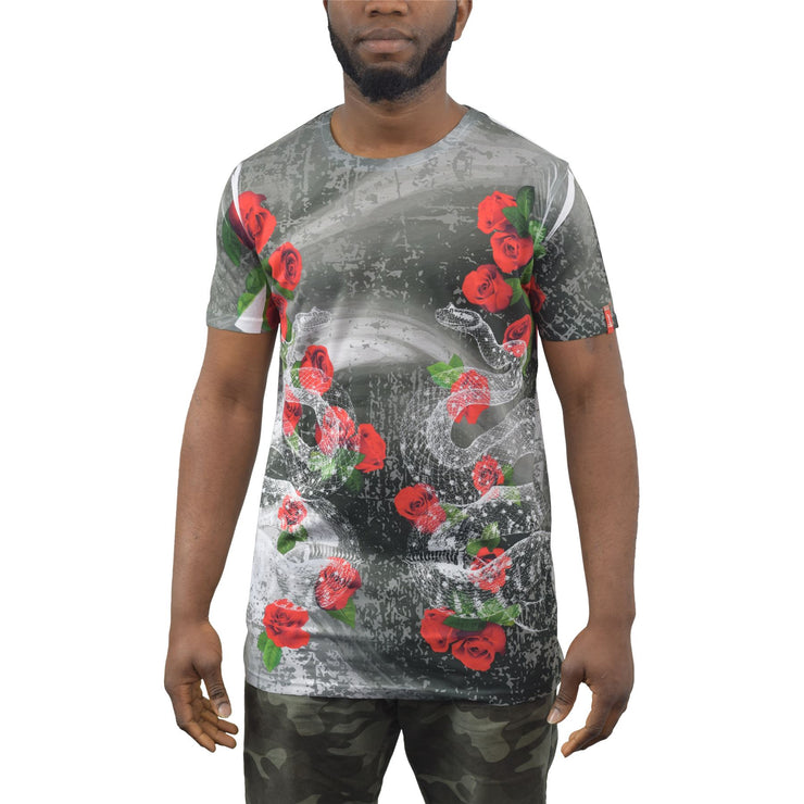 Mens T-Shirt Juice Longline Roar Tee Top - Kandor Clothing Company Ltd UK