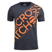 Mens T-Shirt Crosshatch Branyan Tee Top