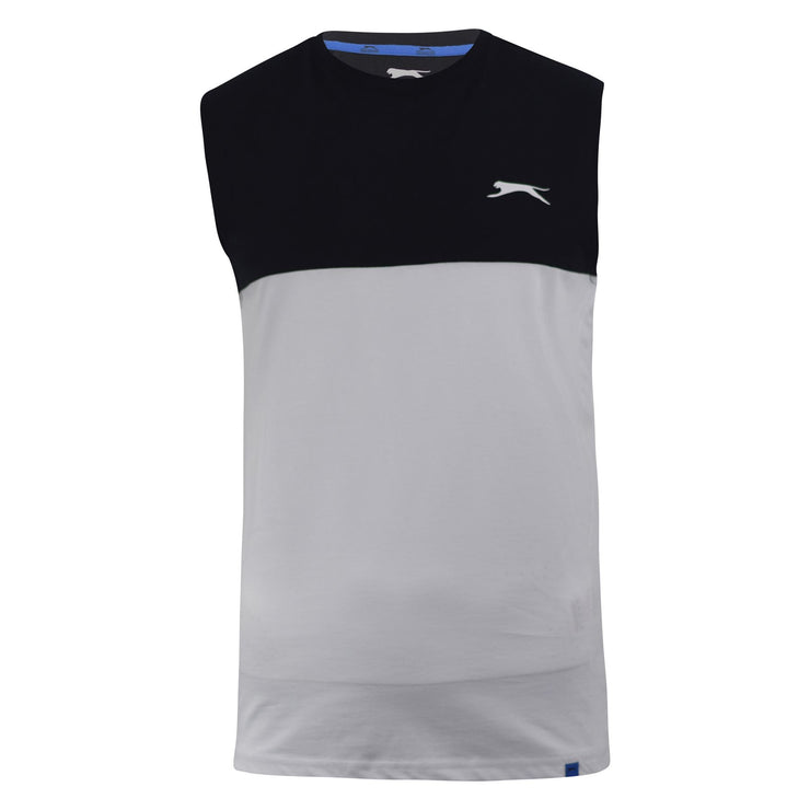 Mens Vest Slazenger Light Weight Sleeveless T Shirt Top Oskar - Kandor Clothing Company Ltd UK