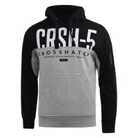 Mens hoodie crosshatch conflact Top - Kandor Clothing Company Ltd UK