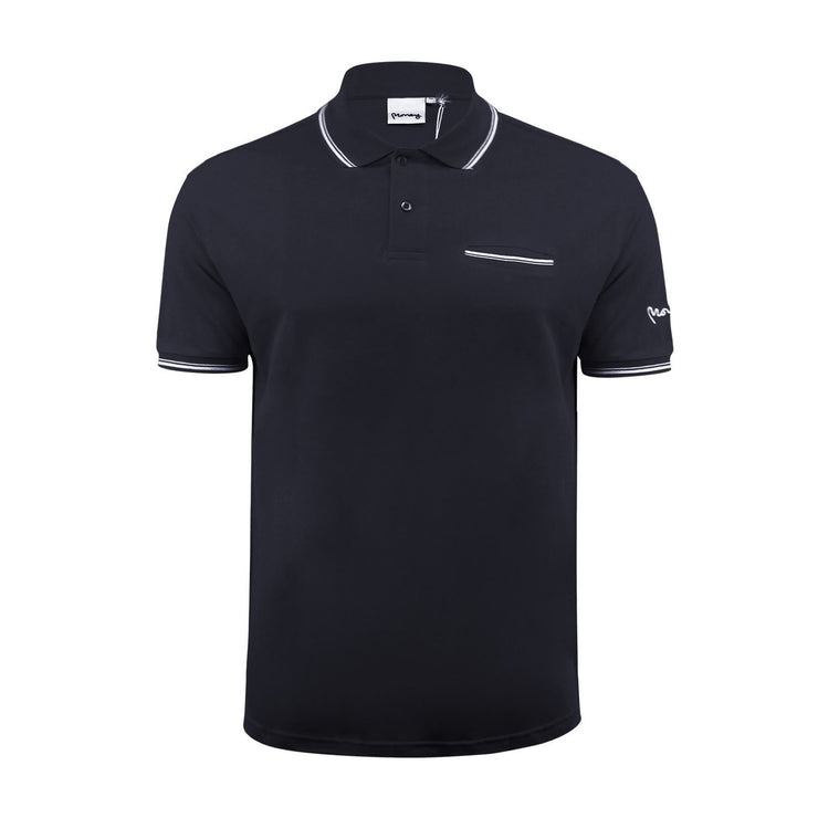 Mens Polo T Shirt Money Clothing Comp Collar Casual Top - Kandor Clothing Company Ltd UK