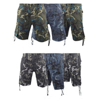 Mens Chambay Cargo Shorts Smith and Jones Camo Combat Summer Short