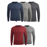 Mens Jumper Duck and Cover Knitwear Designers Crew Neck Top - Kandor Clothing Company Ltd UK