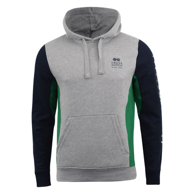 Mens Hoodie Crosshatch Sweatshirt HEBRON - Kandor Clothing Company Ltd UK