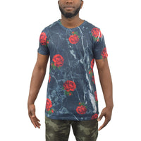 Mens T-Shirt Juice Junta Sublimated Longline Tee Top - Kandor Clothing Company Ltd UK
