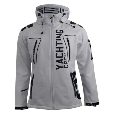 Mens Jacket Geographical Norway Softshell Toublerona Outdoor Sport Coat(,) - Kandor Clothing Company Ltd UK