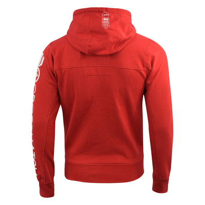 Mens Hoodie Crosshatch Full Zip Langtry - Kandor Clothing Company Ltd UK