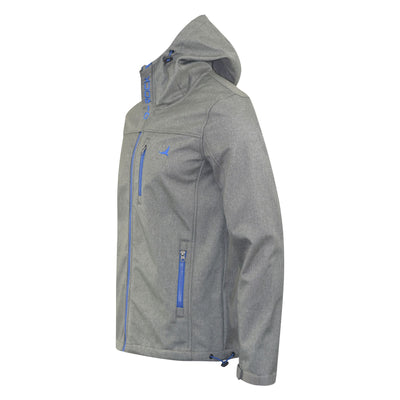 Mens Jacket D-Rock Bonded Contrast Zipper Summer Coat - Kandor Clothing Company Ltd UK