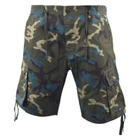 Mens Chambay Cargo Shorts Smith and Jones Camo Combat Summer Short - Kandor Clothing Company Ltd UK