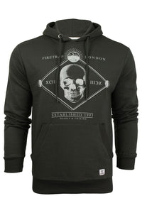 Mens Hoodie Firetrap Manotick Graphic Pullover Sweatshirt - Kandor Clothing Company Ltd UK