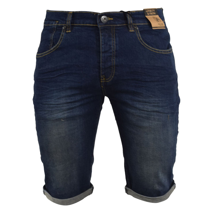 Mens Denim Shorts Loyalty and Faith Jeans Summer Short - Kandor Clothing Company Ltd UK