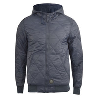 Mens jacket  crosshatch diamond quilts - Kandor Clothing Company Ltd UK