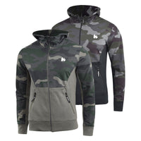 Mens Hoodie Zip Money Clothing Camo Ape Jumper Sweatshirt - Kandor Clothing Company Ltd UK
