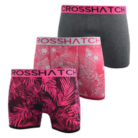 Mens Boxers Shorts Crosshatch Multipacked 3PK Underwear Gift Set 3 Pack Tresco - Kandor Clothing Company Ltd UK