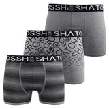 Mens Boxers Shorts Crosshatch Multipacked 3PK Underwear Gift Set 3 Pack Formbee - Kandor Clothing Company Ltd UK