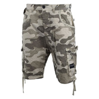 Mens Cargo Short Crosshatch Camo Ryehill - Kandor Clothing Company Ltd UK