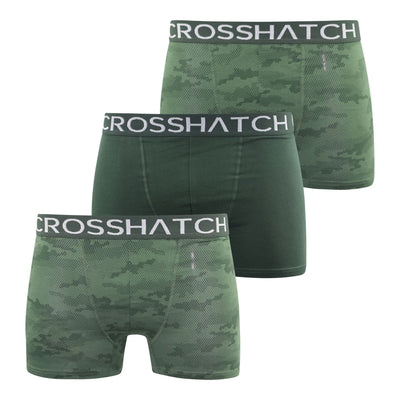 Crosshatch Mens Boxers Shorts (6 Pack) Multipacked  Underwear Gift  Set Gleasea - Kandor Clothing Company Ltd UK