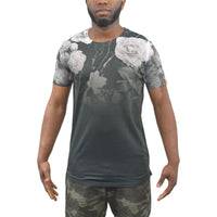 Mens T-Shirt Juice Morio Sublimated Longline Tee Top - Kandor Clothing Company Ltd UK