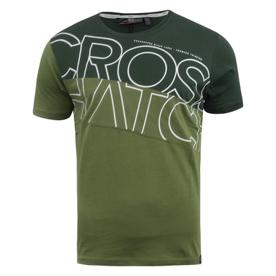 Mens t-shirt crosshatch top atkinsons - Kandor Clothing Company Ltd UK