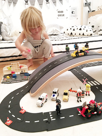 waytoplay flexible road track indoor play
