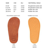 size chart baby shoes