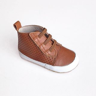 Tikitot Brooklyn high top pre-walker baby shoes