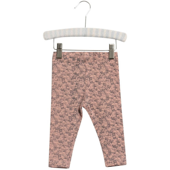baby leggings with kitten print