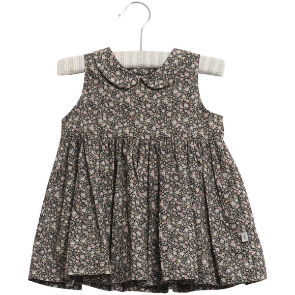 Eila cotton baby dress, floral print
