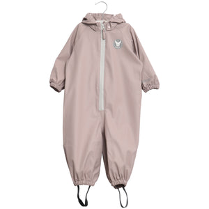 powder pink rainsuit for toddlers