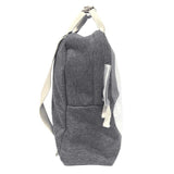 Jersey backpack Mister Fly Kids Grey side view