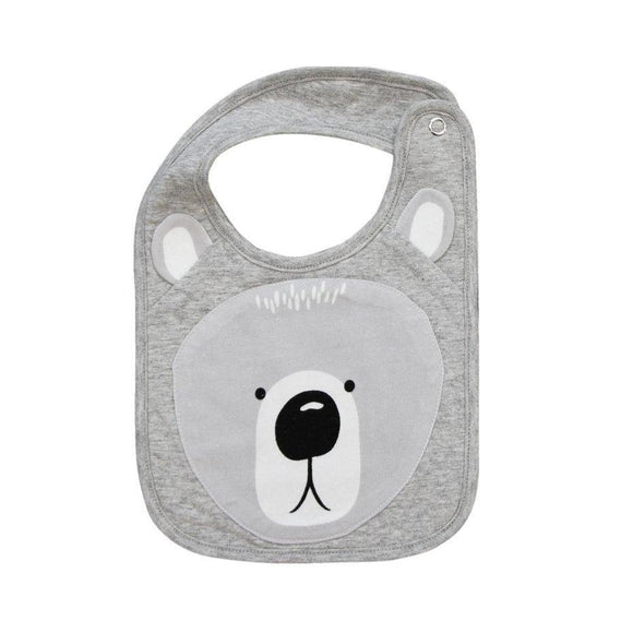 Mister Fly Kids Animal cotton bib - Bear