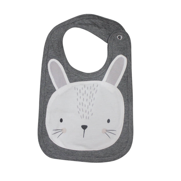 Mister Fly Kids Animal bib - bunny face