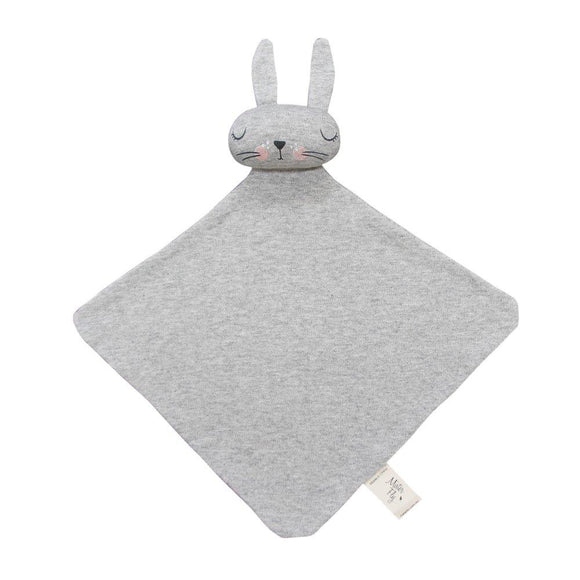 Mister Fly Kids Bunny comforter grey cotton