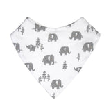 Mister Fly Kids Elephant cotton jersey dribble bib
