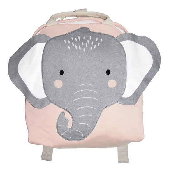 Mister Fly Kids Pink elephant backpack