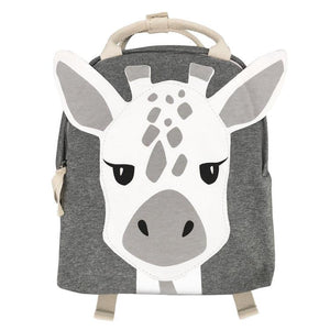 Giraffe Jersey backpack Mister Fly Kids Grey