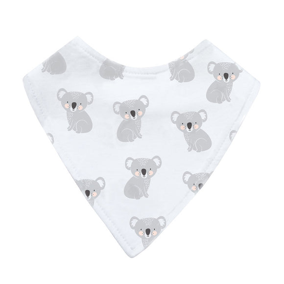 Mister Fly Kids Koala jersey cotton dribble bib