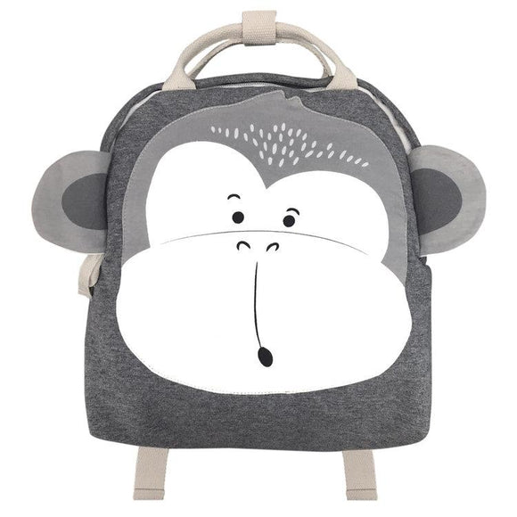 Mister Fly Kids Monkey Backpack grey jersey