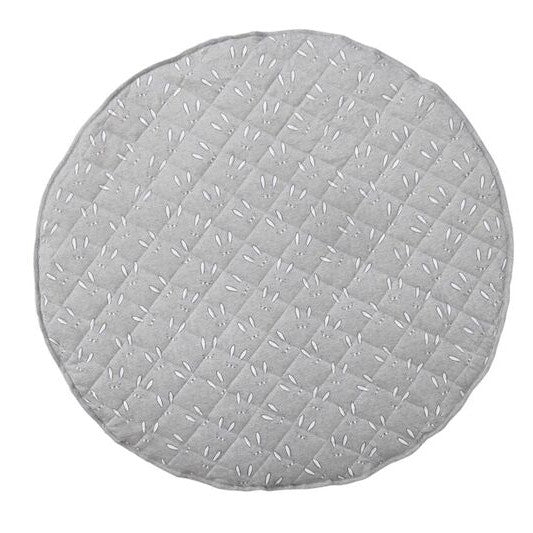 BunBun grey cotton jersey round playmat