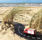 Waytoplay flexible road track set on the beach