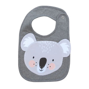 Mister Fly Kids Animal face bib - koala