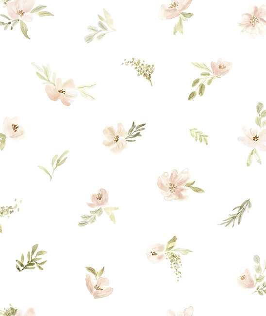 Watercolour Flowers Wallpaper