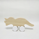 Tom Triceratops wooden toy