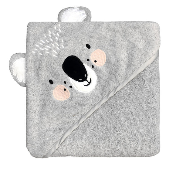 Mister Fly Kids Koala Hooded cotton bath towel for babies and kids