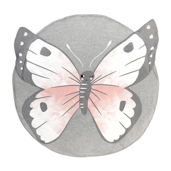 MIster Fly Kids Butterfly round playmat cotton
