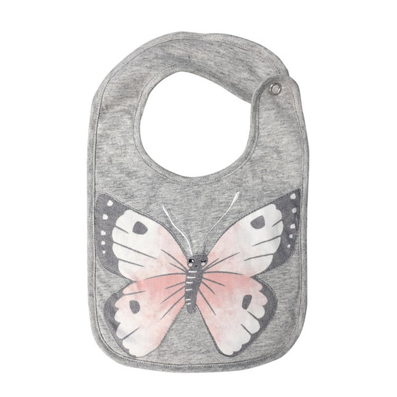 Mister Fly Kids Jersey Animal bib - butterfly